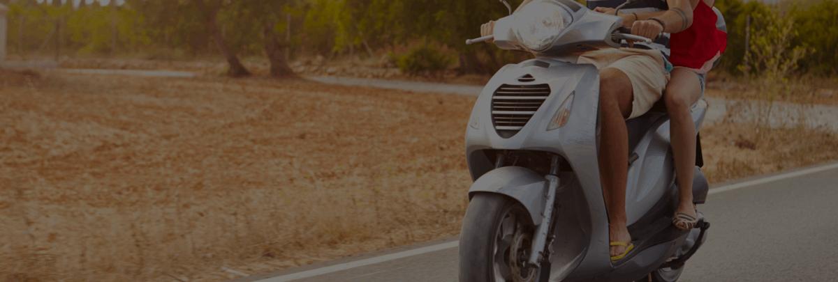 Landing page motorbike step 1