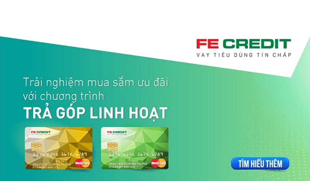 Trả góp với FE Credit